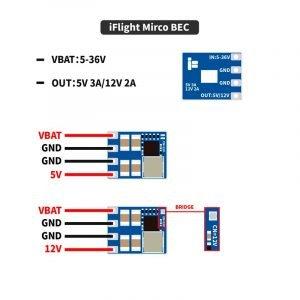 Micro 2-8S BEC - 5V/12V Output