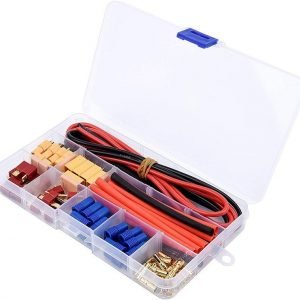 Plugs and cables kit XT60 Connector 14AWG Wire + Heat Shrink