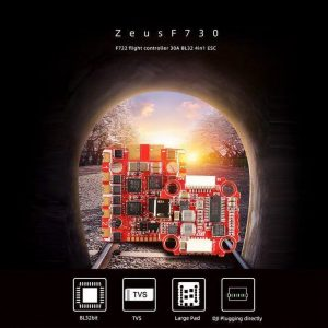 HGLRC Zeus F730 STACK 3 6S F722 30A 4in1 ESC dronefpvshop.ch 1