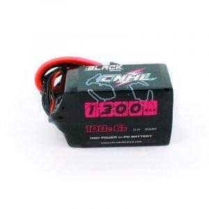 CNHL black 1300mah 22.2v 6s 100c lipo battery dronefpvshop.ch