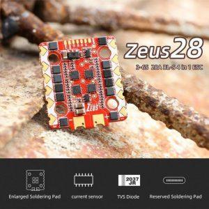 HGLRC Zeus 28A 4in1 ESC 3 6S BL S Dronefpvshop.ch